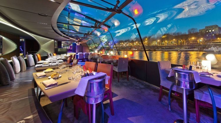 TOP 10 restaurants at the water's edge in Paris !